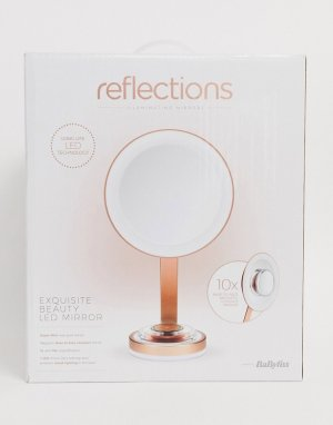 Тонкое зеркало со светодиодной подсветкой BaByliss-Бесцветный Babyliss