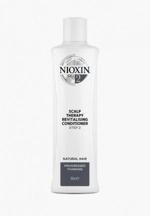 Кондиционер для волос Nioxin система 2, 300 мл. Цвет: белый