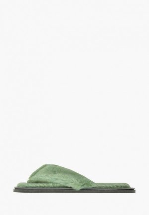 Тапочки Amaro Home. Цвет: зеленый