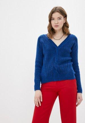 Пуловер Naf. Цвет: синий