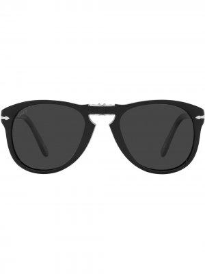 Солнцезащитные очки 714 Steve McQueen Persol. Цвет: черный