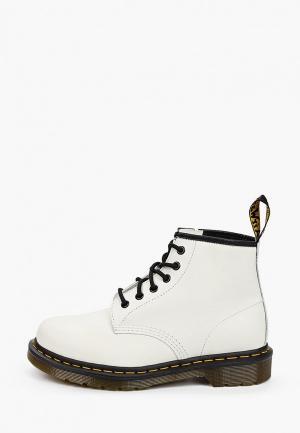 Ботинки Dr. Martens 101 YS-6 Eye Boot. Цвет: белый