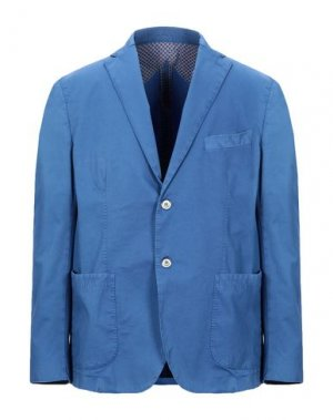 Пиджак JERRY KEY. Цвет: лазурный