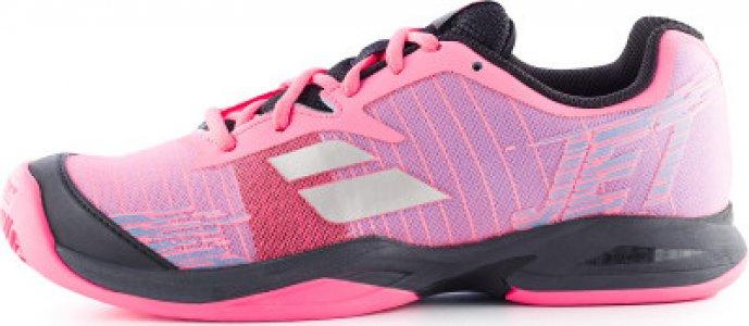 Кроссовки для девочек Jet Clay, размер 38 Babolat. Цвет: розовый