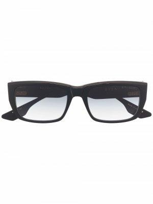 Солнцезащитные очки в прямоугольной оправе Dita Eyewear. Цвет: черный