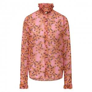 Блузка Alexis. Цвет: розовый
