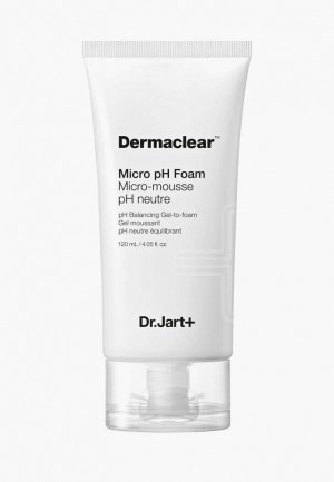 Пенка для умывания Dr.Jart Dermaclear Micro pH, 120 мл. Цвет: прозрачный