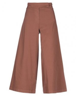 Повседневные брюки HACHE. Цвет: коричневый