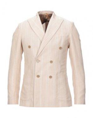 Пиджак 26.7 TWENTYSIXSEVEN. Цвет: песочный