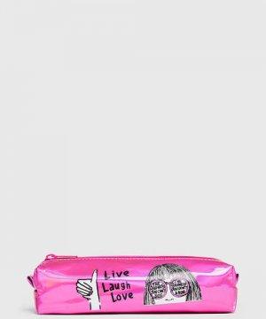 Пенал для девочек O`Stin. Цвет: розовый