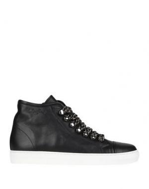 Высокие кеды и кроссовки LE DANGEROUGE. Цвет: черный