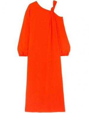 Длинное платье ELIZABETH AND JAMES. Цвет: оранжевый