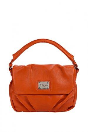 Сумка через плечо D.Angeny. Цвет: оранжевый