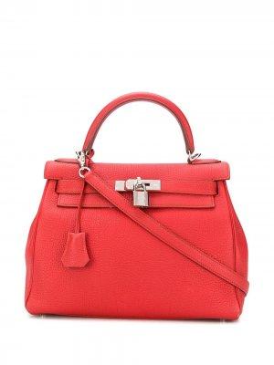 Сумка Kelly 28 2013-го года Hermès. Цвет: красный