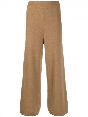 Расклешенные брюки с завышенной талией Opening Ceremony. Цвет: коричневый
