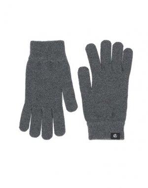 Перчатки PAUL SMITH. Цвет: серый