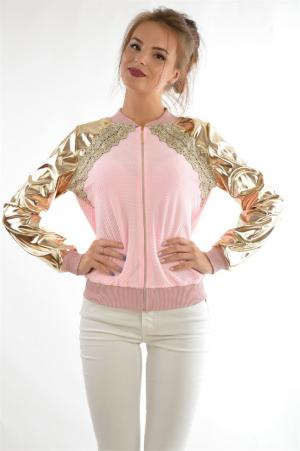Ветровка Majaly. Цвет: розовый