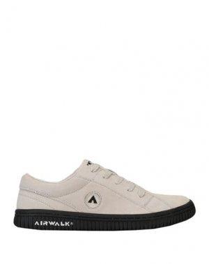 Низкие кеды и кроссовки AIRWALK. Цвет: бежевый
