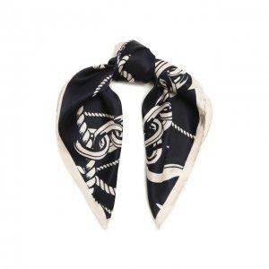 Шелковый платок Escada Sport. Цвет: чёрно-белый