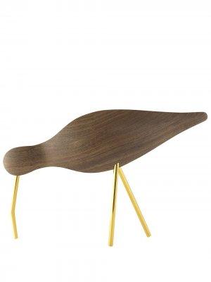 Декоративная фигурка Shorebird Normann Copenhagen. Цвет: коричневый