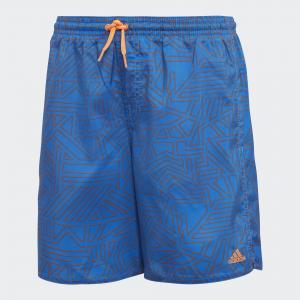Пляжные шорты Graphic Performance adidas. Цвет: оранжевый