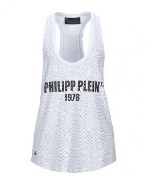 Майка PHILIPP PLEIN. Цвет: белый