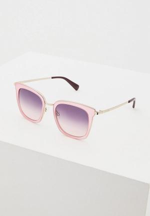 Очки солнцезащитные Love Moschino MOL007/S 35J. Цвет: розовый