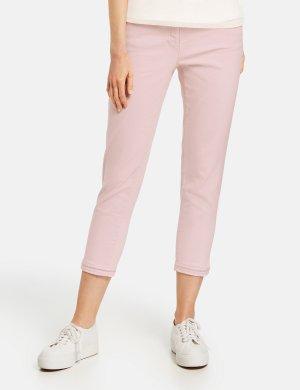 Укороченные джинсы GERRY WEBER. Цвет: rosewater