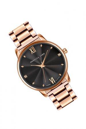 Часы наручные ISABELLA FORD. Цвет: розовое золото