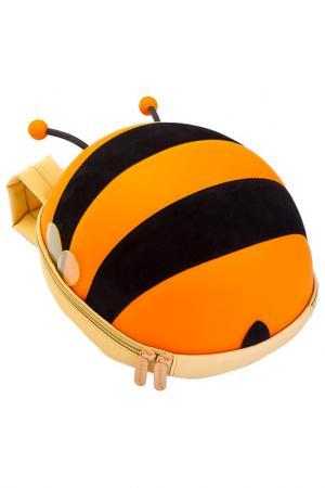 Ранец детский «пчелка» BRADEX. Цвет: оранжевый