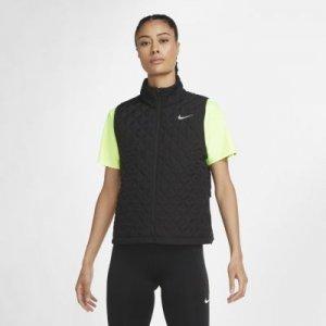 Женский беговой жилет Aerolayer - Черный Nike