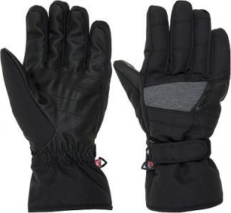 Перчатки мужские , размер 9 Ziener. Цвет: черный