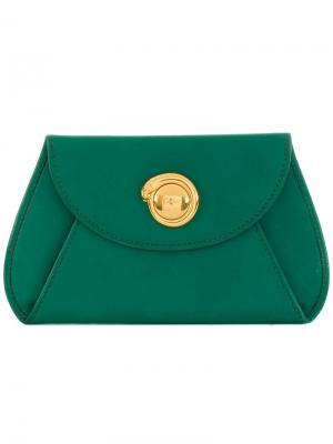 Кошелек для монет с застежкой Cartier. Цвет: зеленый