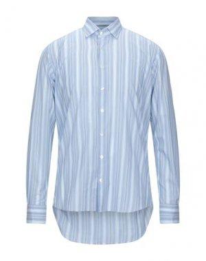 Pубашка ETRO. Цвет: небесно-голубой