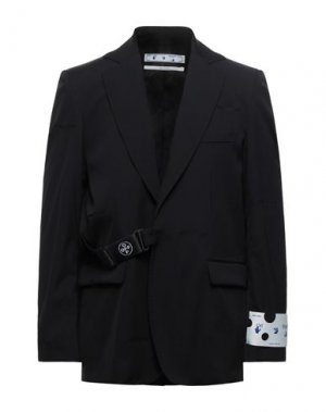 Пиджак OFF-WHITE™. Цвет: черный