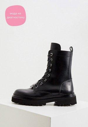 Ботинки John Galliano. Цвет: черный