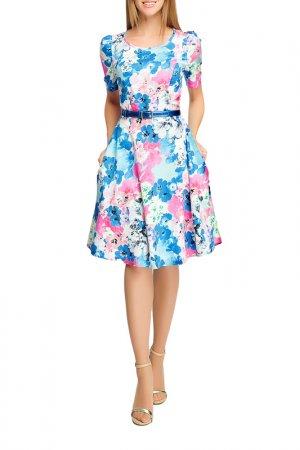 Платье Giulia Rossi. Цвет: мультиколор, фиолетовый