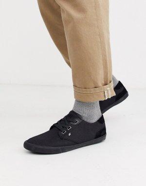 Черные кроссовки -Черный Boxfresh