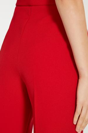 Красные классические брюки Alexandr Rogov. Цвет: красный
