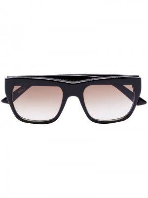 Солнцезащитные очки Blake в квадратной оправе Kirk Originals. Цвет: black