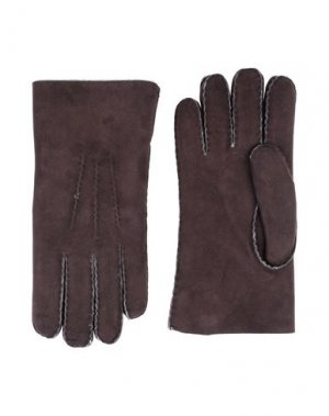 Перчатки BELSTAFF. Цвет: какао