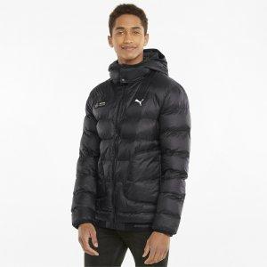 Куртка Mercedes F1 Ready to React EcoLite Mens Jacket PUMA. Цвет: черный