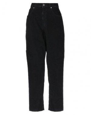Повседневные брюки PENCE. Цвет: черный