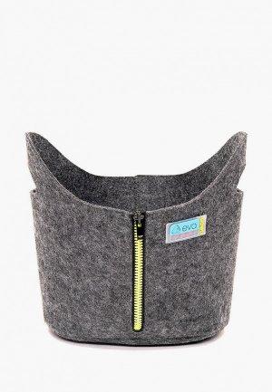 Органайзер для хранения Eva 24х15 см. Цвет: серый