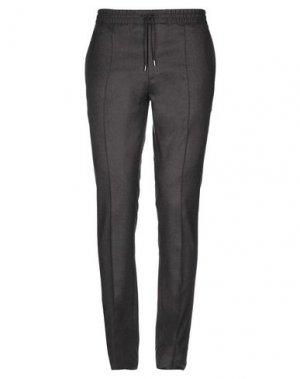 Повседневные брюки BRIONI. Цвет: темно-коричневый