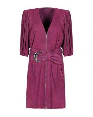 Короткое платье JITROIS. Цвет: розовато-лиловый