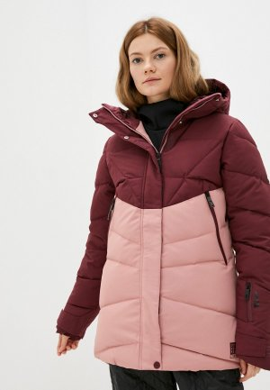 Куртка сноубордическая Termit. Цвет: разноцветный