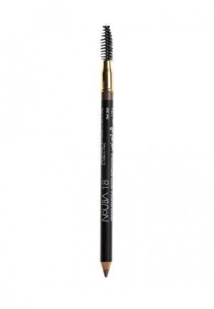 Карандаш для бровей Nouba со щеточкой Eyebrow pencil 18 1,18г. Цвет: бежевый
