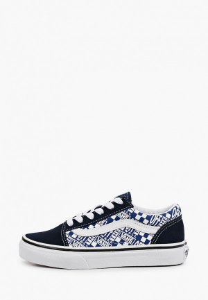 Кеды Vans UY OLD SKOOL (OFF THE WALL). Цвет: синий