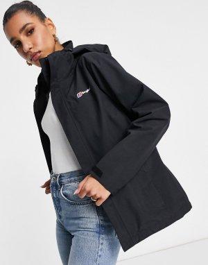 Черная куртка Hillwalker-Черный Berghaus